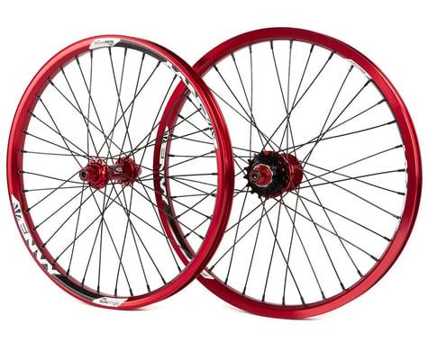 MCS Pro Cassette Wheelset (Red) (20 x 1.75)