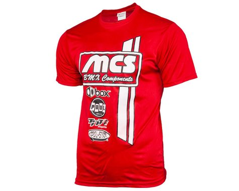 MCS Short Sleeve T-Shirt (Red) (2XL)
