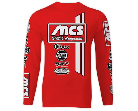 MCS Long Sleeve Jersey (Red) (2XL)