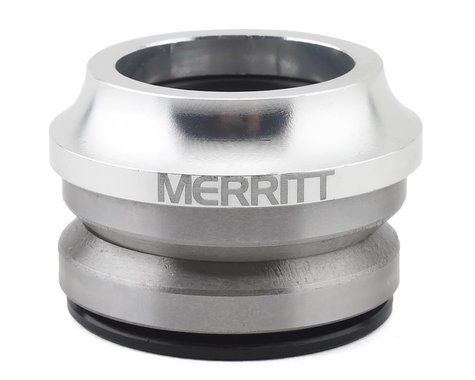 "Merritt Low Top Integrated Headset (Silver) (1-1/8"")"