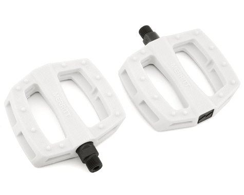 "SCRATCH & DENT: Merritt P1 PC Pedals (White) (9/16"")"