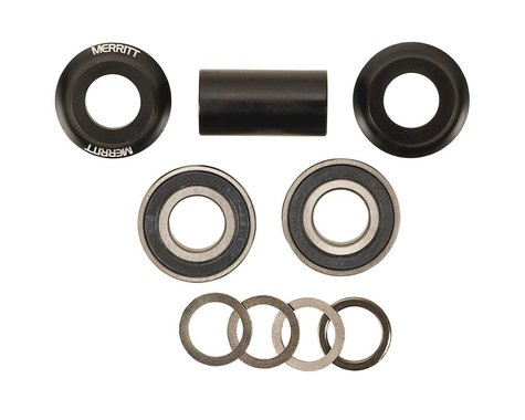 Merritt Mid Bottom Bracket Kit (Black) (19mm)