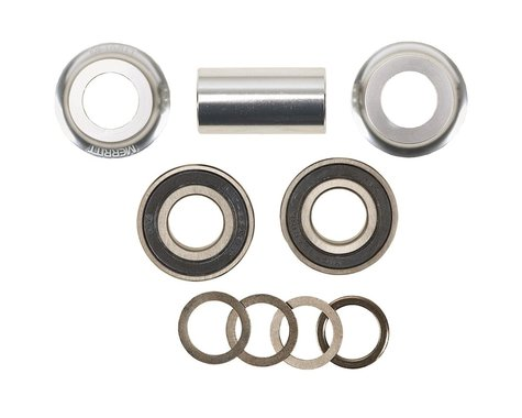 Merritt Mid Bottom Bracket Kit (Silver) (19mm)