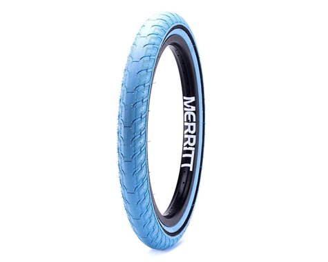 "Merritt Option ""Slidewall"" Tire (Tar Heel Blue) (20"") (2.35"")"