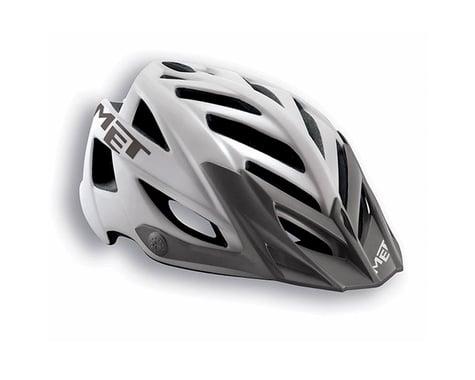 MET Terra MTB Helmet (White/Grey) (One Size)