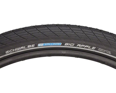 "Schwalbe Big Apple Tire (Black) (29"") (2.35"")"