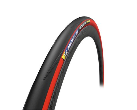 Michelin Power Road TS Tire (Red) (700 x 25)
