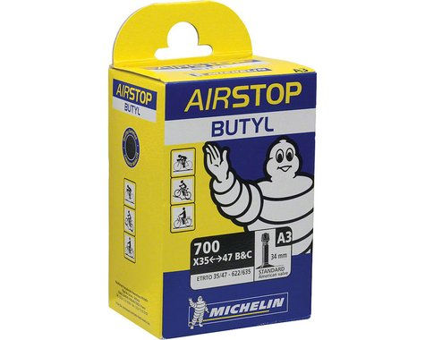 Michelin 700c AirStop Inner Tube (Schrader) (35 - 47mm) (34mm)