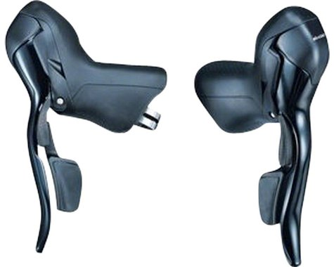 Microshift R7 Drop Bar Shifter Set (Black)