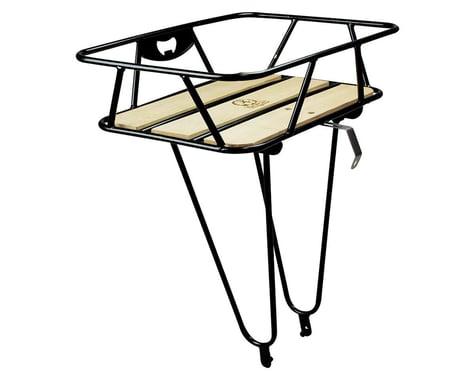 Minoura Gamoh King Carrier Front Basket (Black) (Large)