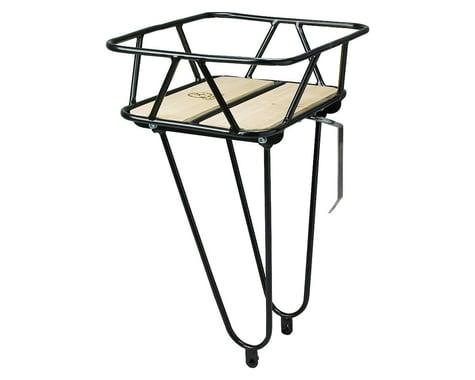 Minoura Gamoh King Carrier Front Basket (Black) (Junior)
