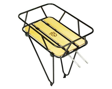 Minoura Gamoh King Carrier Rear Basket (Black)