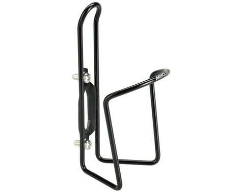 Minoura DuraCage Water Bottle Cage (Black w/ Alloy Bolts) (4.5mm)