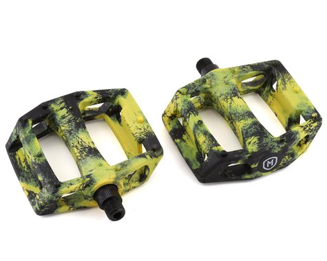 Mission Impulse PC Pedals (Black/Yellow Splash)