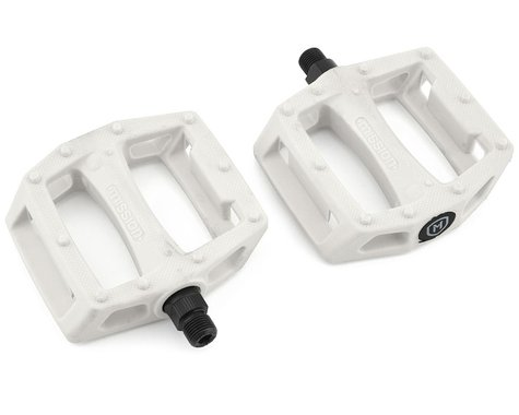 "Mission Impulse PC Pedals (White) (9/16"")"