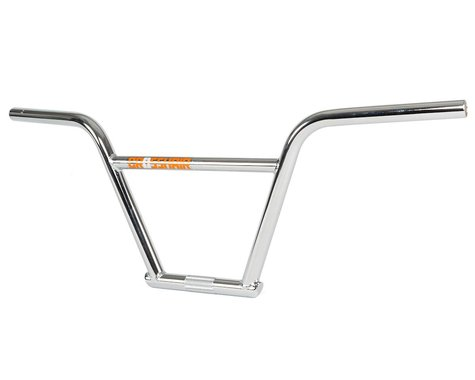 "Mission Crosshair Bars (Chrome) (9"" Rise)"