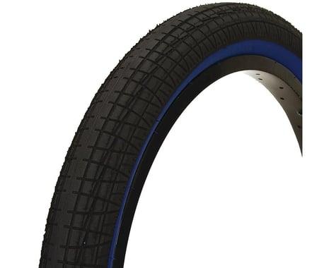Mission Fleet Tire (Black/Blue) (20 x 2.40)