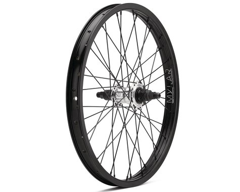 "Mission Deploy Freecoaster Wheel (Silver/Black) (Left Hand Drive) (20 x 1.75"")"