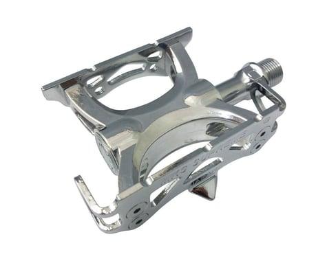 "Mks Supreme Keirin Track Pedals (Silver) (Aluminum) (9/16"")"