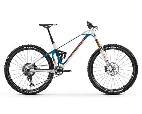 Mondraker SUPERFOXY CARBON R Super Enduro Bike (White/Petrol/Fox Orange) (S)