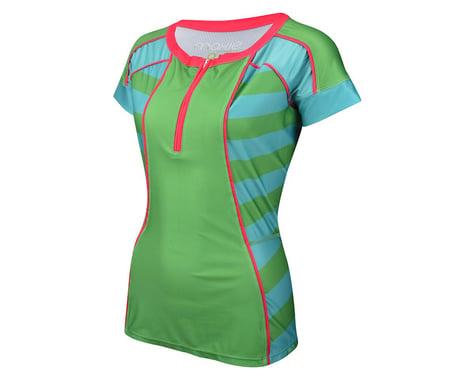 Moxie Women's Green Summer Tee Jersey (Multi)
