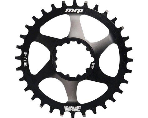 MRP Wave Ring for XX1/X0/X9 GXP Cranks (Black) (7mm Offset) (30T)