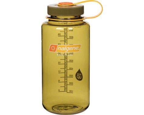 Nalgene Wide Mouth Water Bottle (Olive) (32oz)