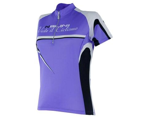 Nalini Women's Sassolite Short Sleeve Jersey (Purple) (Xsmall)