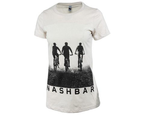 Nashbar Short Sleeve T-Shirt (Cream) (Women's) (M)