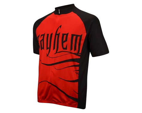 Nashbar Mayhem Cranium Jersey (Red/Black)