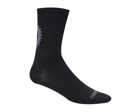 """Nashbar 5"""" Logo Socks (Black)"""