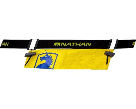 Nathan Race Number Belt (Black) (One Size Fits Most)