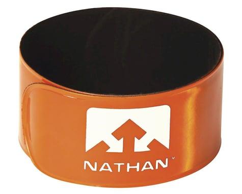 Nathan Reflex Reflective Snap Bands (Orange) (Pair)