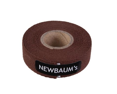 Newbaum's Cotton Cloth Handlebar Tape (Dark Brown) (1)