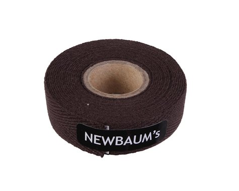 Newbaum's Cloth bar tape, dark chocolate - each