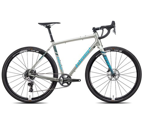Niner Bikes 2021 RLT 9 3-Star 650b Gravel Bike (Forge Grey/Skye Blue) (47cm)