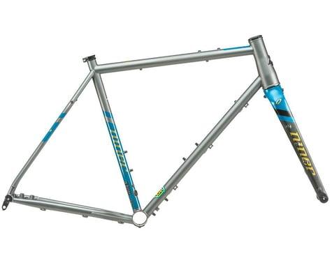 Niner 2021 RLT 9 Steel Frameset (Forge Grey/Baja Blue) (62cm)