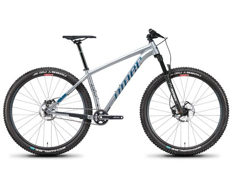 Niner Bikes 2021 AIR 9 3-Star SS Hardtail Mountain Bike (Silver/Baja Blue) (L)
