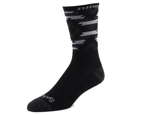 """Niner Bikes SockGuy Wool 6"""" Serape Socks (Grey/Black) (L/XL)"""