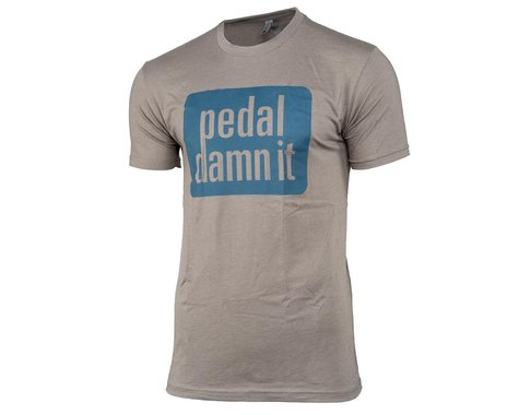 "Niner ""Pedal Damn It"" T-Shirt (Light Grey) (XL)"