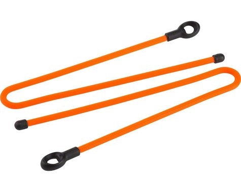 "Nite Ize Gear Tie Loopable 12"" Twist Tie (Bright Orange) (2-Pack)"