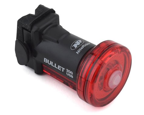 NiteRider Bullet 200 Bike Tail Light (Black)