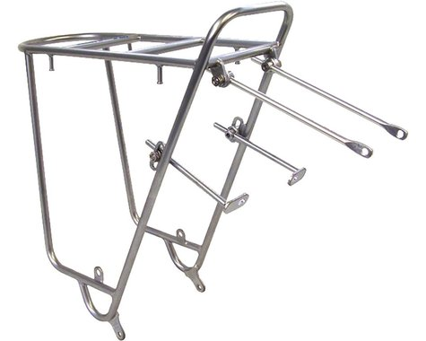 Nitto Mt-Campee Rear Mount Bicycle Rack (Silver)