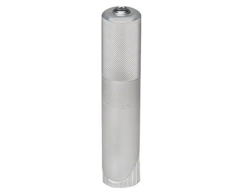 "Nitto MT Stem Column Adaptor: 1"" Threaded Fork to 1-1/8"" Threadless Stem"