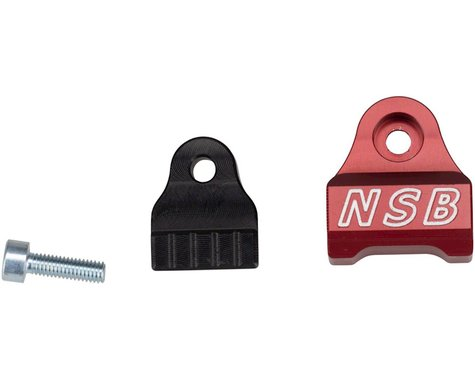 North Shore Billet Fox 40 (all years) and 2002-2007 32 & 36 Cable Guide Red