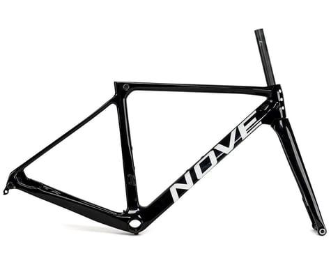 Nove Race Disc Frameset (Gloss Black/White Logo) (L)