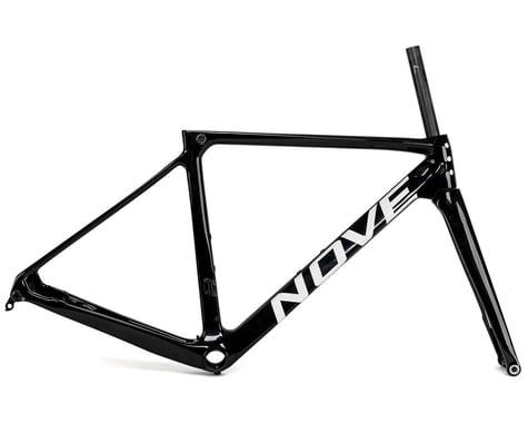 Nove Race Disc Frameset (Gloss Black/White Logo) (M)