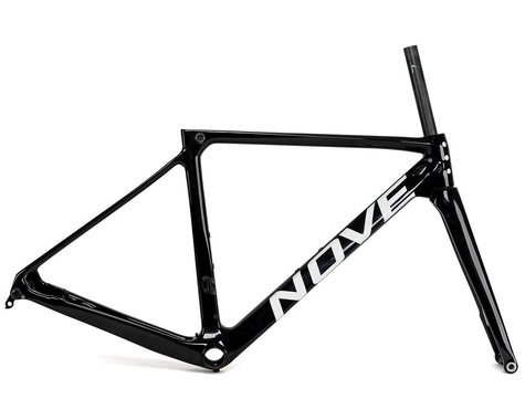 Nove Race Disc Frameset (Gloss Black/White Logo) (XS)