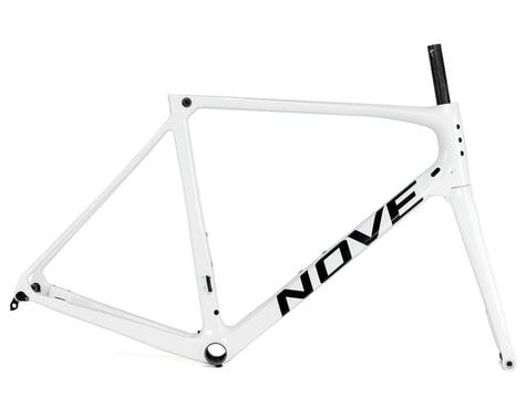 Nove Race Disc Frameset (Gloss White/Black Logo) (L)