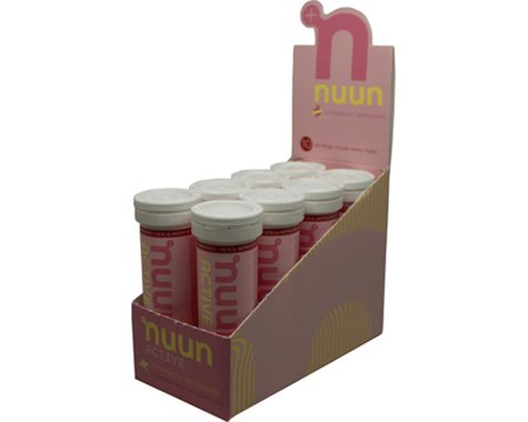 Nuun Sport Hydration Tablets (Strawberry Lemonade) (8 Tubes)